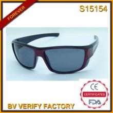 2015 nuevos productos para los hombres y la Italia de diseño gafas de Fudan (S15154)