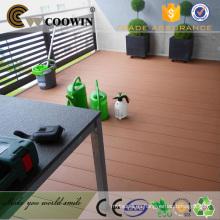 Baldosa de madera de plástico wpc tabla de cubierta barata China manufactuers / proveedores / fábrica
