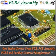 Pantalla PCBA con Ventilador y disipador de calor adecuado para Equipos Controladores Industriales PCB assemlies dell pcba test