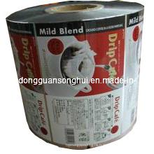 Film d'emballage en plastique de café / film d'emballage de café