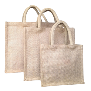 Customize the lock edge jute handbag wholesale