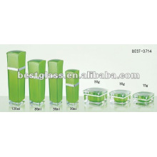 лепесток зеленый бутылка акриловый и акриловый опарник