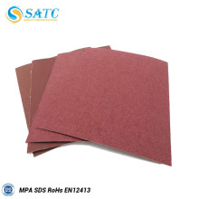 SATC--Aluminum oxide A/O abrasive sanding paper sheet