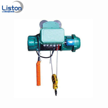 10ton wire rope pulley electric crane hoist 2ton