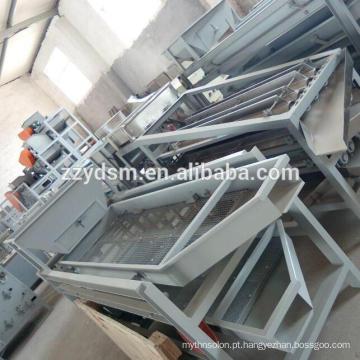 Linha de processamento de castanha de caju automática e semi-automática