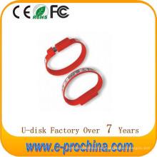 Heißes Verkaufs-Armband-Art-kundenspezifischer USB-Blitz-Antrieb für Förderung für freie Probe