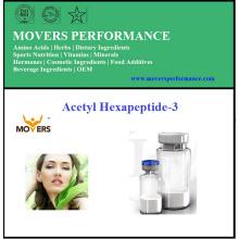 Peptídeo cosmético de alta qualidade Acetyl Hexapeptide-3