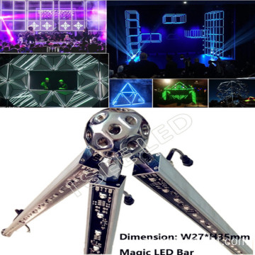 16Pixels DMX RGB led Geometric Bar