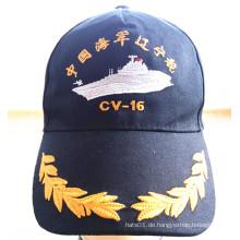 Hochwertige, benutzerdefinierte, gestickte Militärsport Cap