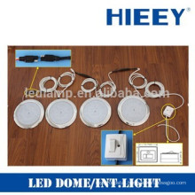 LED interior ceiling lamp kit with cables and connector vehicle interior light kit