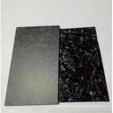 Fábrica de chapa / placa de fibra de carbono forjada personalizada