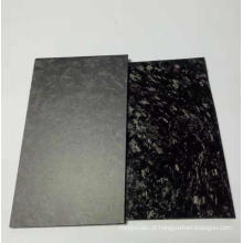 Fábrica de chapas / placas de fibra de carbono forjada personalizada