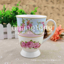 Fine workmanship superior service ceramic shoe shaped mug