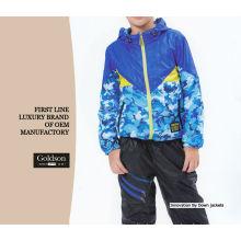 Professional Cothing Factory Kids Priting Jacket / Boy Windbreaker