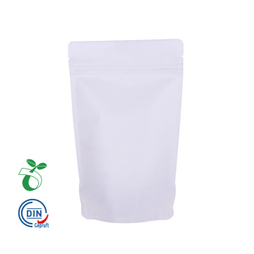 Kraftangan White Kraft Paper Customized Compostable Bag