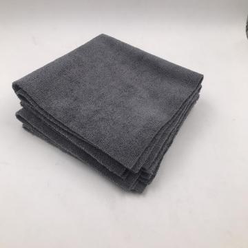 """kantenloses Mikrofaserhandtuch 16 * 16 """"schwarzes microfiber Autotuch"""