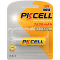 PKCELL lithium ICR18650 Battery