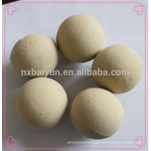 Mittlerer Tonerde-reibender Ball-keramischer Ball 80% Tonerde-Inhalt