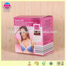 Hot sale sturdy recycled cube shape lingerie gift boxes