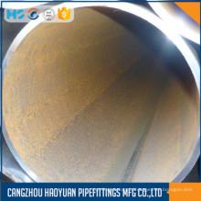 Tubo de aço preto DN700 Seam Erw