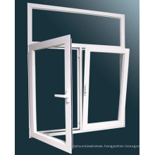 2015 Morden Style Aluminum Tilt and Turn Window with Double Glass
