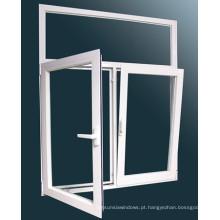 2015 Morden Style alumínio Tilt e virar janela com vidro duplo