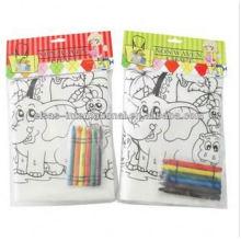 Enfants bricolage peinture sac de cordon non tissé