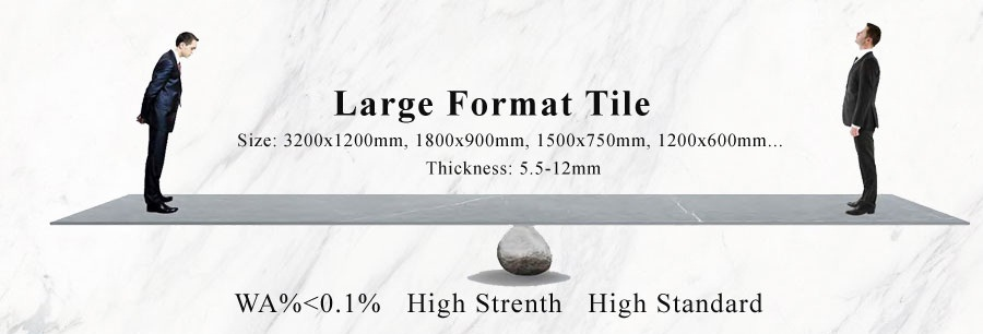 large format concrete tiles
