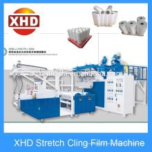 LDPE 1000mm doble tornillo (55 / 75mm) máquina de la película de estiramiento en Xinhuida