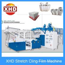 LDPE Máquina de filme de estiramento de duplo parafuso (55 / 75mm) 1000mm em Xinhuida