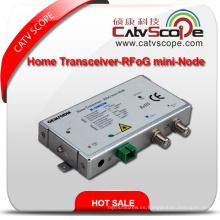 CATV FTTH Agc Home Transceptor - Receptor Óptico / Mini Nodo Rfog