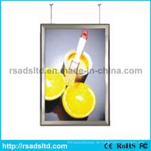 Seiten LED Werbung Display Lichtkasten verdoppelt