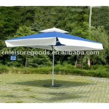 Parasol de jardin extérieur en aluminium grand parapluie