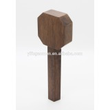 Wooden Beer Tap Handle With Geometric Design 20977