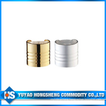 Hy-Q03c 24mm Diameter Sliver or Gold Disc Press Cap with Steak
