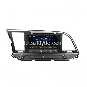 Elantra 2016 Android Car DVD