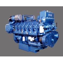 Marine Auxiliary Diesel Engine 4-cylinder 66kw for Generator Set