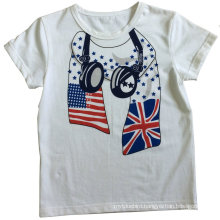 Fashion Boy T-Shirt in Children Clothes with Print Sqt-604