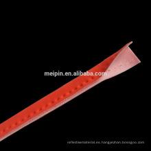 Tubería reflexiva del spandex del poliéster visible del color del OEM / tubería reflexiva