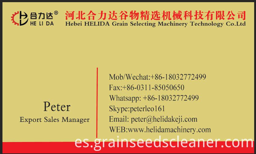 seed cleaner and grader