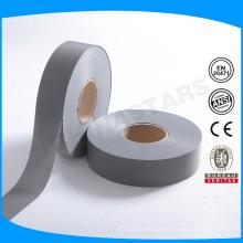 EN20471 Tiras de alta visibilidade cinzenta cinzenta, classe 2, para coser