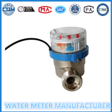 Reed Switch Pulse Output Water Meter Single Jet