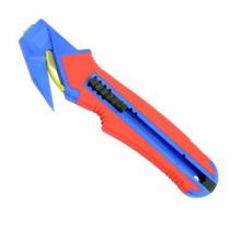 Cortador de caixa de segurança de cor dupla
