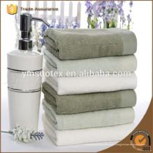 Hotel de toalha de algodão de alta qualidade de 5 estrelas uso