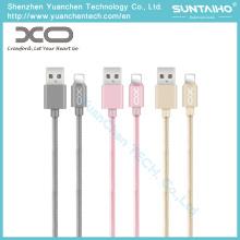 Cable de teléfono de carga del relámpago de la cuerda del USB de los datos del OEM para el iPhone