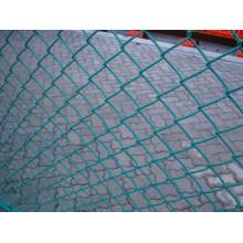 PVC-beschichtete Kettenglied-Zaun hergestellt in China