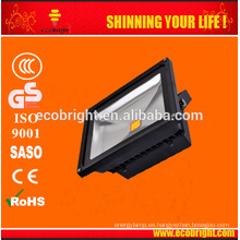 MEJOR estrella de energía CE al aire libre / RoHS30W/50W/100 vatios LED lámpara resistente al agua luz de inundación del LED de inundación