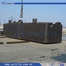 Pontón de acero para bomba para dragado y construcción marina (USA-1-003)