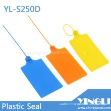 Scellés de sécurité en plastique Big Tag pour Logisitc