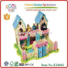 Casa de muñeca del juguete del bebé